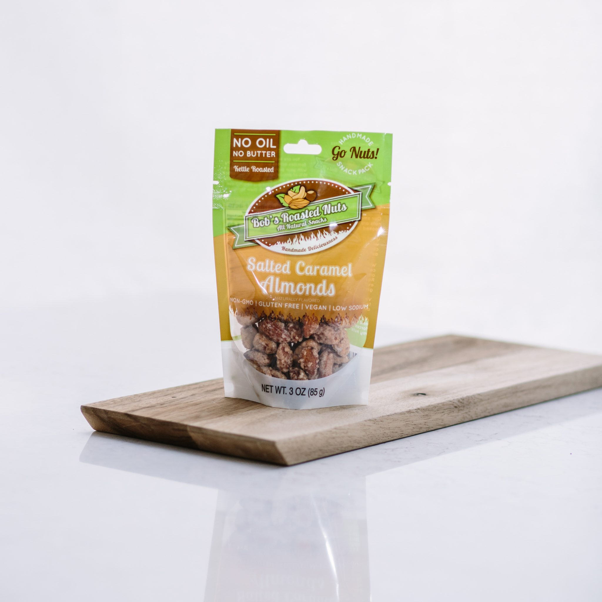 Salted Caramel Almond Snack Pack - Bob's Roasted Nuts